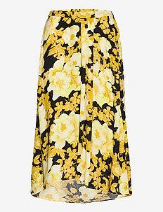 Rosanna Midi Skirt Printed - midinederdele - rosanna print pattern
