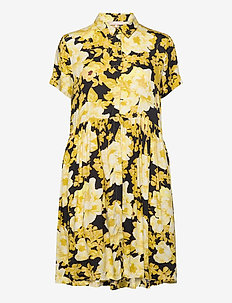 Rosanna SS Shirt Dress Printed - shirt dresses - rosanna print pattern