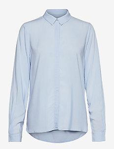 SRFreedom LS Shirt - long-sleeved shirts - cashmere blue