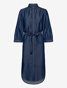 Rue Shirt Dress - shirt dresses - rinse wash