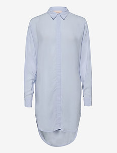 Freedom LS Long Shirt - tunieken - cashmere blue
