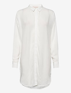 Freedom LS Long Shirt - tunieken - snow white / off white