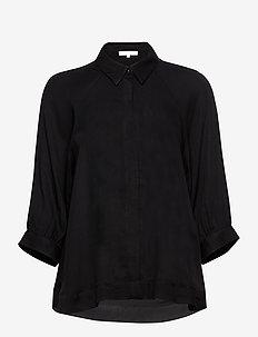 Rosanna 3/4 Shirt - blouses med lange mouwen - black