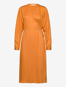 Rosanna Midi Dress - wrap dresses - tomato cream