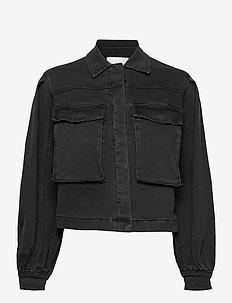 Janice LS Jacket - spijkerjassen - charcoal black