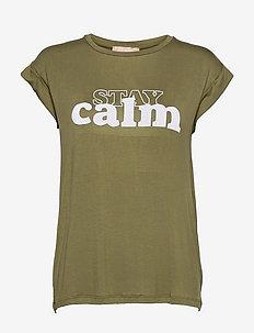 SRCalm T-shirt - t-shirts - olive drab