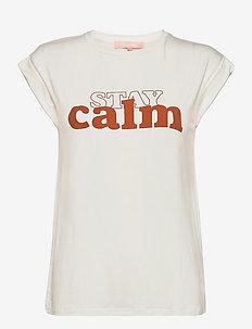 SRCalm T-shirt - t-shirts - snow white / off white