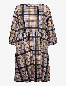 SRLizza Dress - summer dresses - check thistle