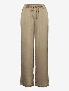 SRHarlow Pant - wide leg trousers - dune
