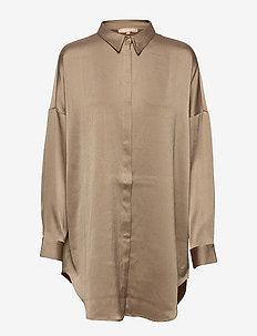 SRHarlow LS long Shirt - long-sleeved shirts - dune