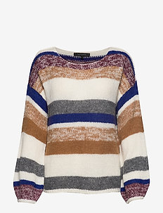 Softy O-neck Knit - swetry - snow white / off white