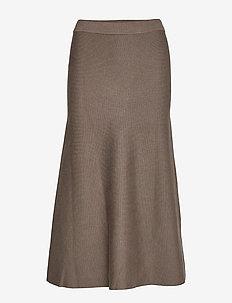 Henrietta Long Skirt - jupes longues - partridge