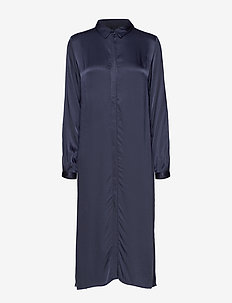 Sikka Long Shirt - robes chemises - total eclipse