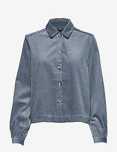 Cordy Jacket - BLUE MIRAGE