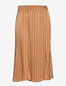 Killa Skirt - midinederdele - tile print