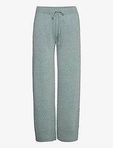 Larvi Knit Pant - spodnie na co dzień - smoke blue