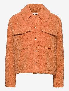 Wendy Jacket - faux fur - pheasant