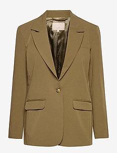 Lucca LS Blazer - skræddersyede blazere - dark olive