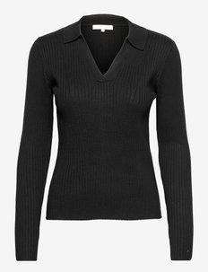 SRKlara Knit - sweaters - black