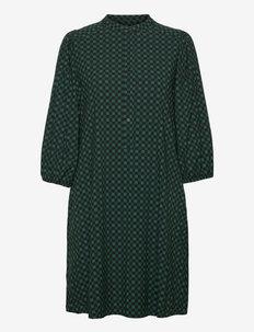 SREllie 3/4 Dress - summer dresses - mini square bayberry