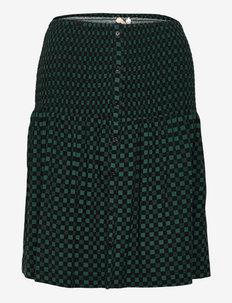SREllie Skirt - midi skirts - mini square bayberry