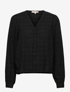 SRVilda LS Shirt - long-sleeved shirts - black