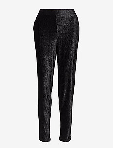Oma Pant - straight leg trousers - 001 black