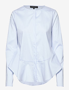 Aimee Shirt - long-sleeved shirts - cashmere blue