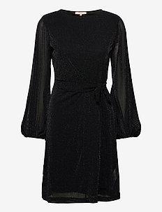 Albertine Midi Dress - sukienki do kolan i midi - black