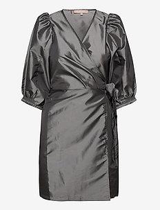 SRMiley Wrap Dress - wrap dresses - asphalt