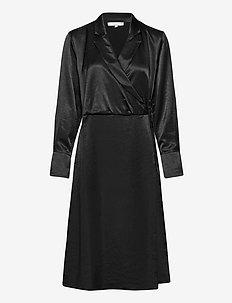 SREliza Wrap Dress - omslagskjoler - black