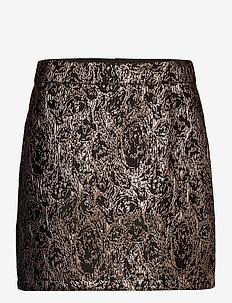 SRWilhelmina HW Skirt - spódnice mini - asphalt