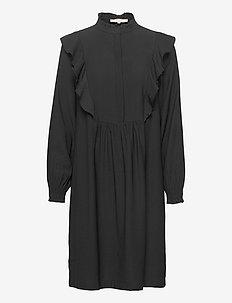 SRBarbara Dress - sukienki do kolan i midi - black