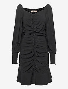 SRMaggie Dress - sukienki do kolan i midi - black