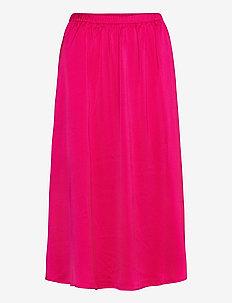 SRCamille Midi Skirt - spódnice do kolan i midi - pink peacock