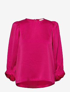 SRCamille 7/8 Top - bluzki z długimi rękawami - pink peacock