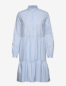 Leanna LS Dress - CASHMERE BLUE