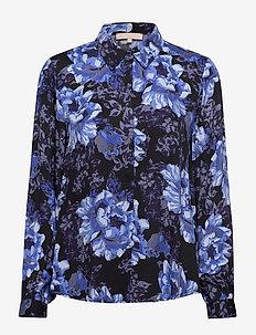 SRRositta LS Shirt - langärmlige hemden - rositta print
