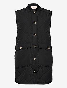 SREileen Quilt Vest - vestes rembourrées - black