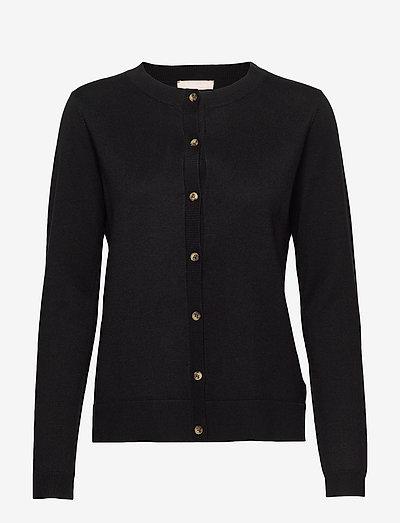 SRMarla New O-neck Cardigan - cardigans - black