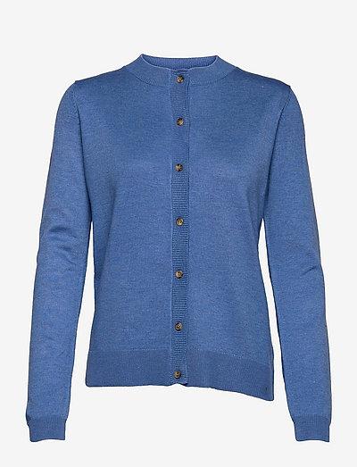 SRMarla New O-neck Cardigan - cardigans - riverside melange