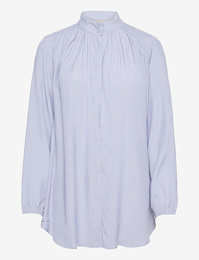 SRMelanie LS Shirt - denim shirts - zen blue