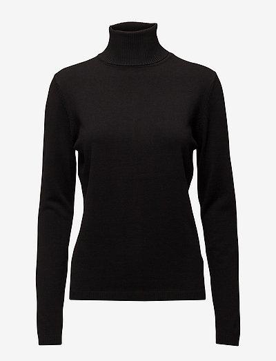 SRMarla Rollneck knit - rullekraver - 001 black