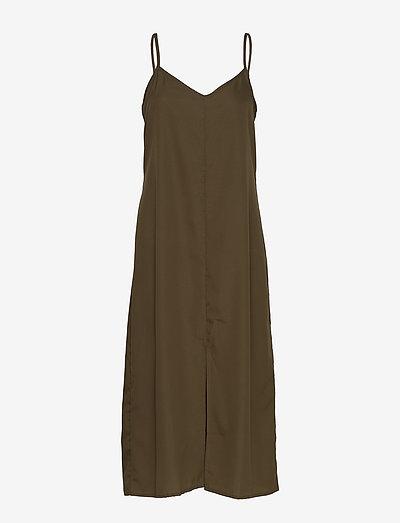 Soft Rebels Koon Shirt Dress- Sukienki Grape Leaf