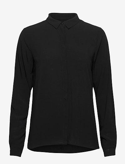 SRFreedom LS Shirt - denim shirts - black