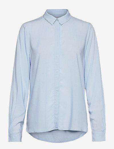 SRFreedom LS Shirt - denim shirts - cashmere blue