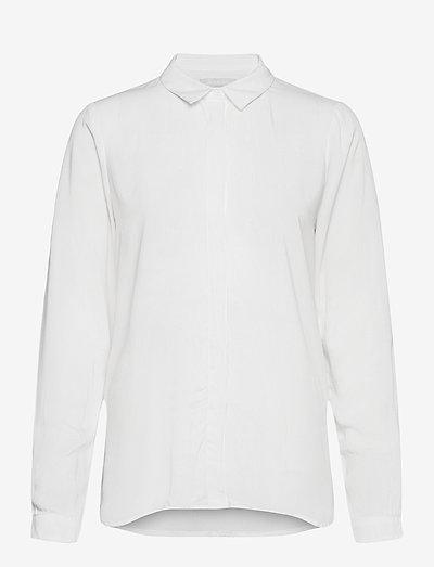 SRFreedom LS Shirt - denim shirts - snow white / off white