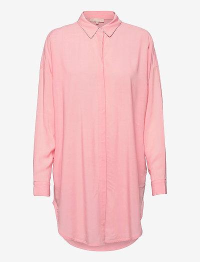 SRFreedom Long Shirt - tunics - quartz pink