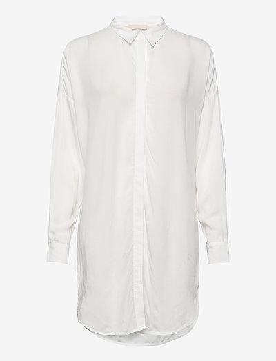 SRFreedom Long Shirt - tunics - snow white / off white