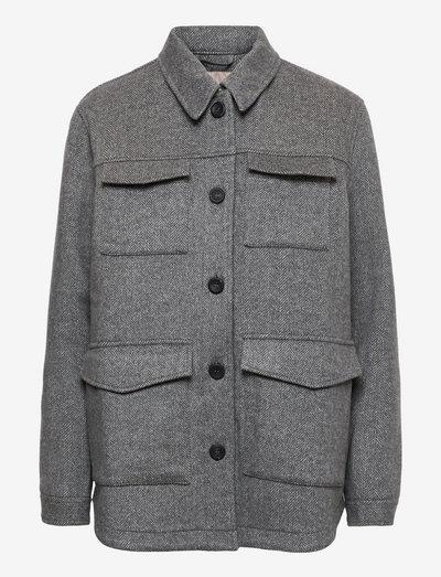 SRGertrud Jacket - wool jackets - light grey